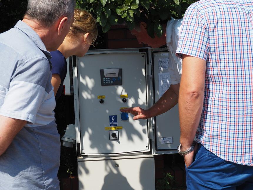 Galeria Odbiór sieci kanalizacji w Olszewie-Borkach